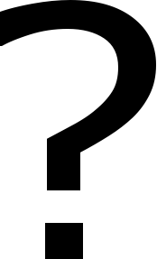 A picture of a question mark to signify unknown couple 1